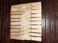 Прищепка деревянная бамбук 20шт/уп