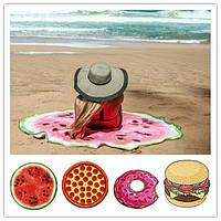 Пляжный коврик 3D | селфи коврик | пляжная подстилка | пляжное покрывало | пляжное полотенце