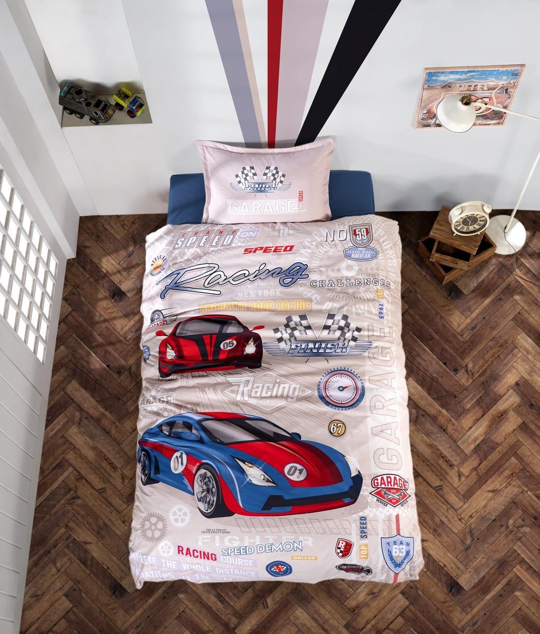 Подростковое постельное белье Aran Clasy Garage 160x220