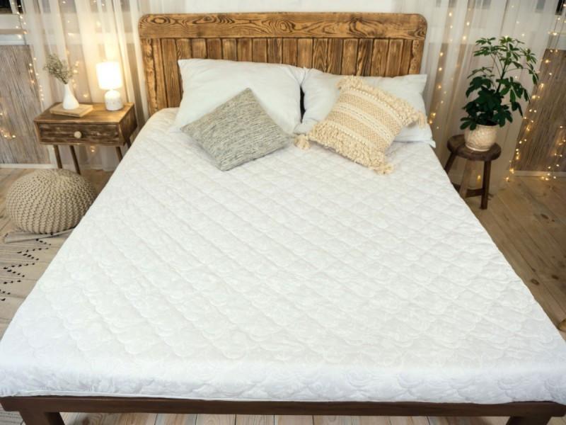 Наматрасник с бортами  Leleka-Textile 200х200 белый