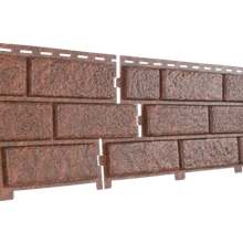 Фасадная панель Ю-Пласт Stone-House красная (кирпич)