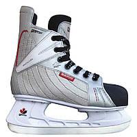 Коньки хоккейные Tempish VANCOUVER/40, серый металлик