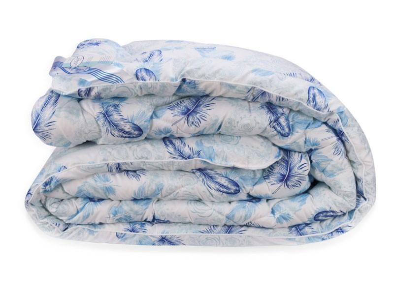 Одеяло Био Пух Leleka-Textile Полуторный 140х205  Перышки