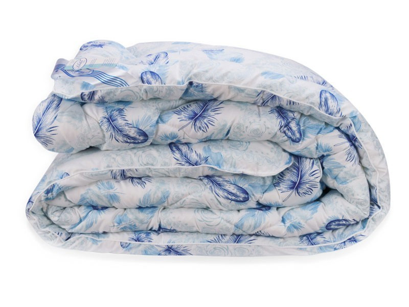 Одеяло Био Пух Leleka-Textile Двуспальный 172х205  Перышки