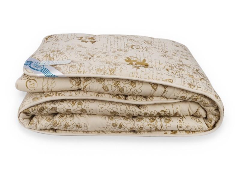 Одеяло Аляска Шерсть Leleka-Textile Полуторный 140х205 Цветы