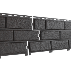 Фасадная панель Ю-Пласт Stone-House коричневая (кирпич)