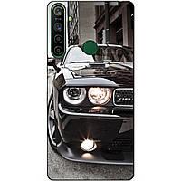 Силиконовый чехол бампер для Realme 5i с рисунком Dodge