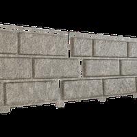 Фасадная панель Ю-Пласт Stone-House бежевая (кирпич)