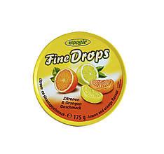 Леденцы Woogie Fine Drops Zitronen &  Orangen, 175 гр.