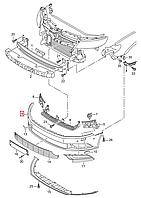 Бампер передний VW Passat CC 2012-2018 USA     3C8807217AN GRU