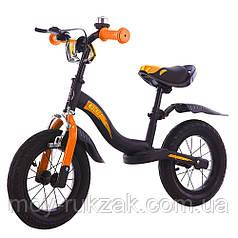 """Беговел детский BALANCE TILLY 12"""" Rocket  T-212520 Orange, оранжевый"""