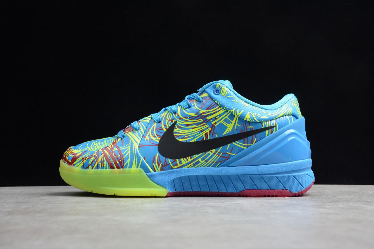 Кроссовки мужские Nike Zoom Kobe 4 Protro / ZKM-027 (Реплика)