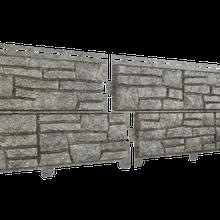 Фасадная панель Ю-Пласт Stone-House бежевая (сланец)