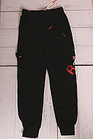 Спортивные брюки для мальчиков с карманами подростковые,разм 140-170 см,95% хлопок, фото 1