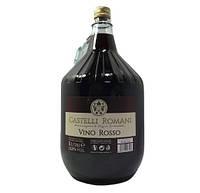 Вино красное сухое Castelli Romani  5 л (Италия), фото 1