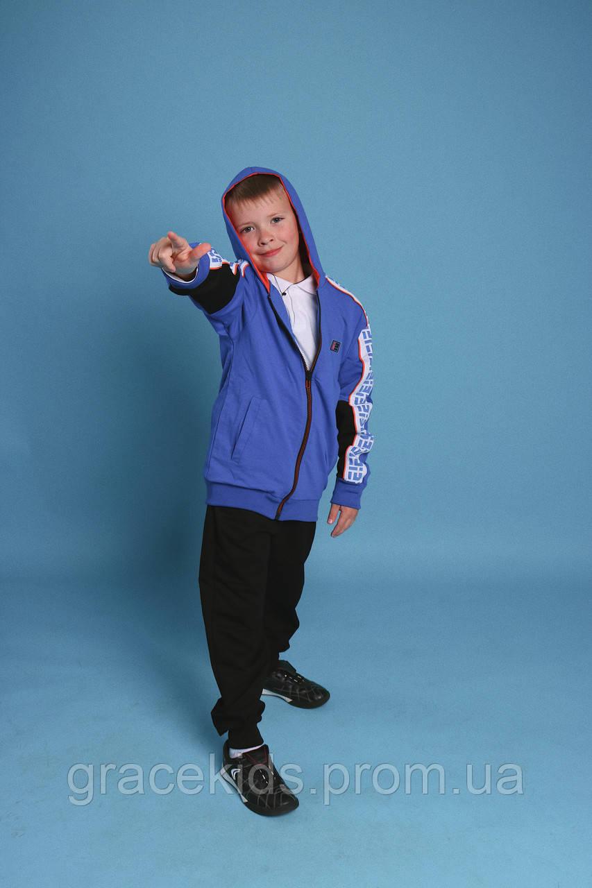 Дитячі спортивні костюми на хлопців GRACE,розм 116-146 см,95% бавовна