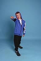 Дитячі спортивні костюми на хлопців GRACE,розм 116-146 см,95% бавовна, фото 1