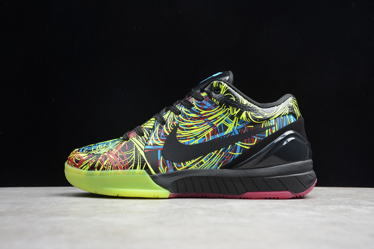 Кроссовки мужские Nike Zoom Kobe 4 Protro / ZKM-031 (Реплика)