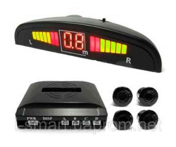 Автомобильный парктроник на 4 датчика + LED дисплей