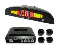 Автомобильный парктроник на 4 датчика + LED дисплей, фото 1