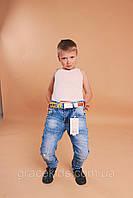 Стильные весенние джинсы для мальчиков SEAGULL,разм 134-164 см