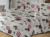Бязевый комплект постельного белья, огромный выбор цветов