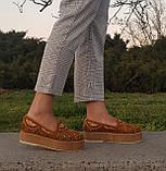 Женские слипоны Baldinini оригинал Италия натуральная кожа 38, фото 7