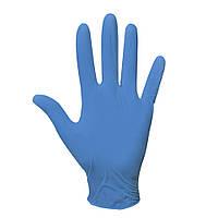 Перчатки нитриловые одноразовые смотровые нестерильные неопудренные синие 200 шт/уп COBALT BASIC-PLUS, фото 1