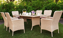 Мебель садовая из ротанга, наборы