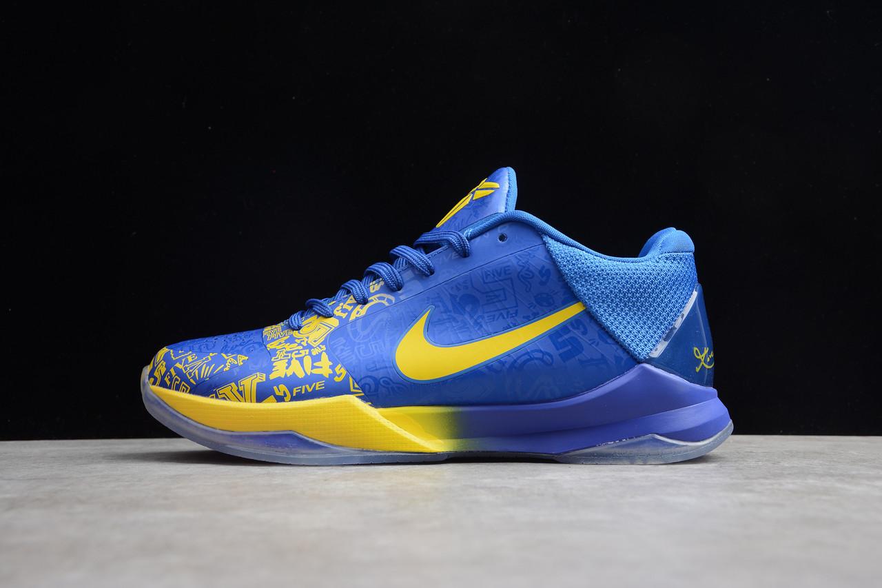 Кроссовки мужские Nike Zoom Kobe 5 Protro / ZKM-040 (Реплика)