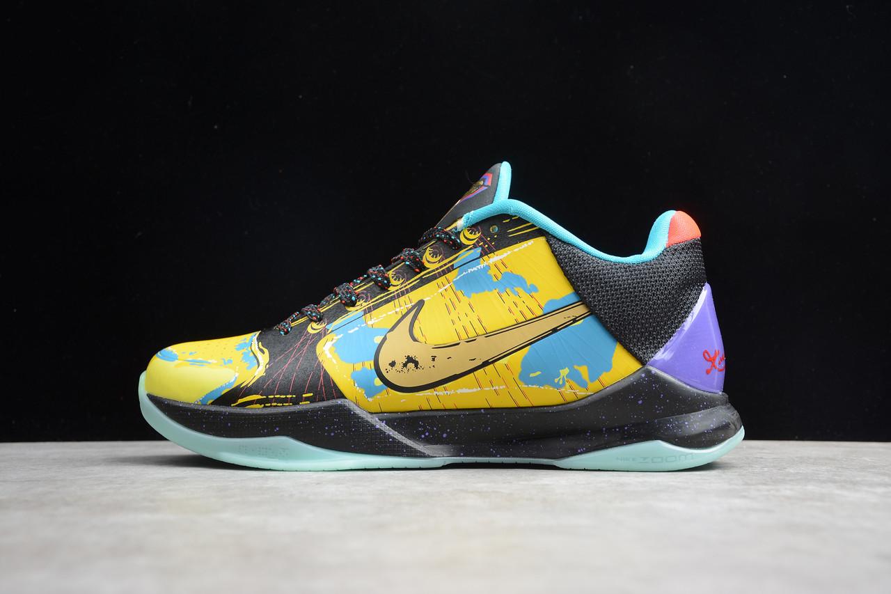 Кроссовки мужские Nike Zoom Kobe 5 Protro / ZKM-041 (Реплика)