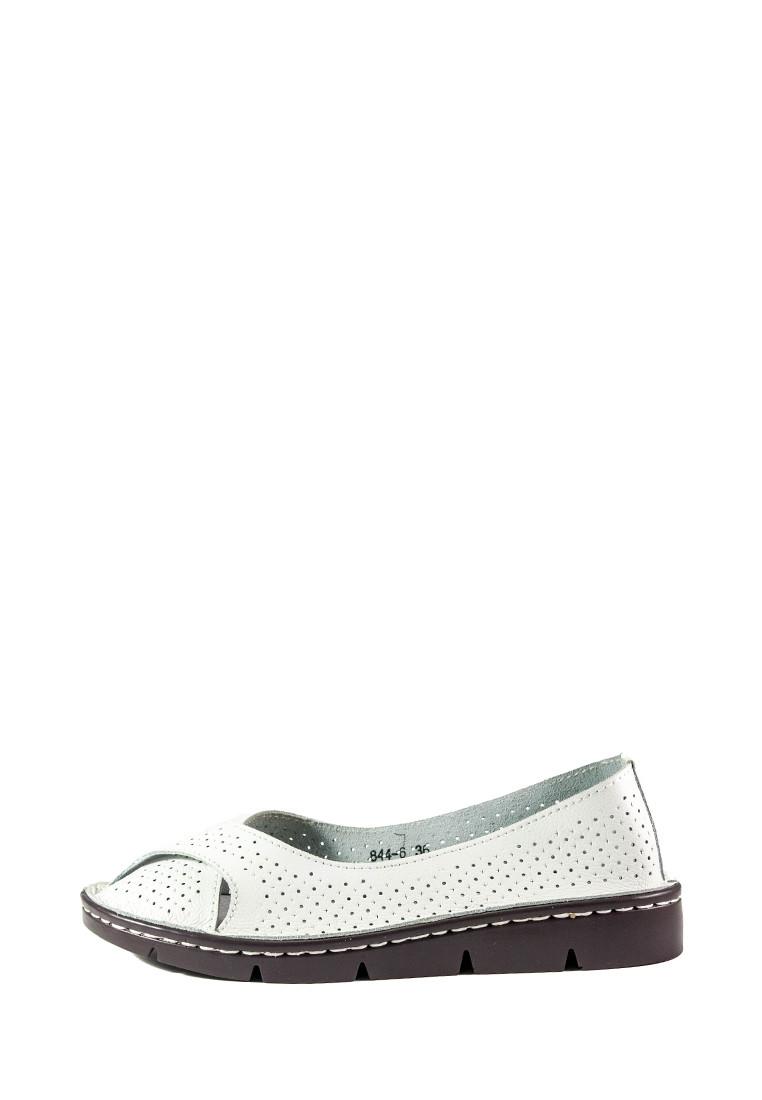 Балетки женские Allshoes 844-6 белый (36)
