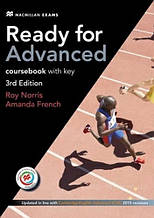 Ready for Advanced 3rd Edition Coursebook with key, Downloadable Audio and Macmillan Practice Online / Учебник