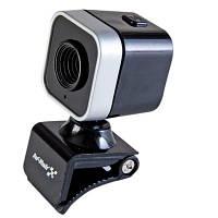 Веб-камера Hi-Rali HI-CA010 Black, 0.3 Mpx, 640x480, USB 2.0, встроенный микрофон