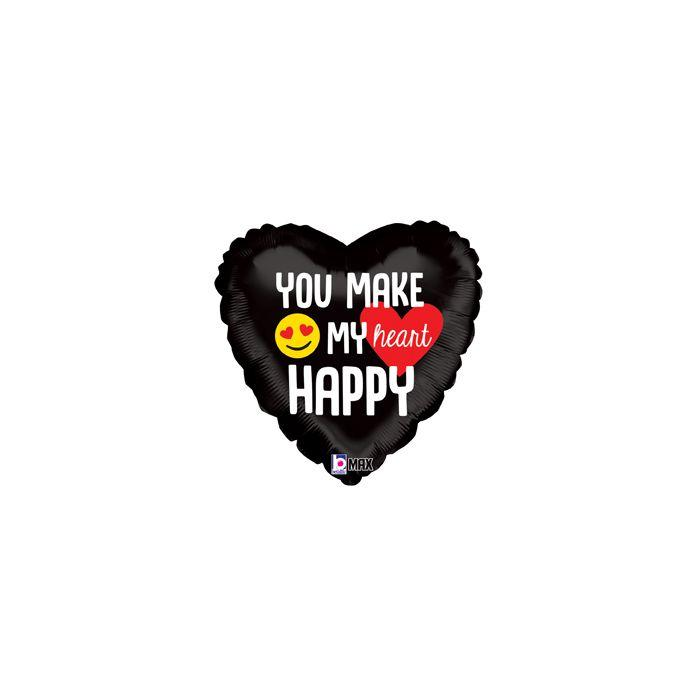 """ВТ 18"""" You Make My Heart Happy, (Ты Делаешь Моё Сердце Счастливым), в УП"""