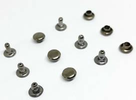 Хольнитен 6 мм темный никель ( в упаковке 1000 штук )