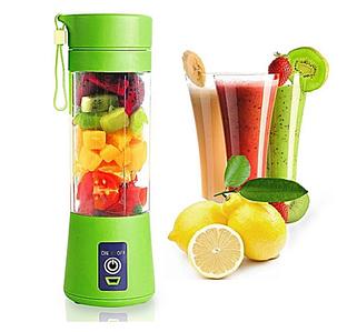 Портативний Блендер Smart Juice Cup Fruits USB з акумулятором