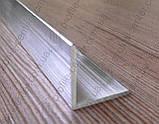 Угол алюминиевый 25х25х2 равнополочный равносторонний, фото 5