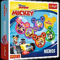 "Настольная игра ""Мемо. Микки Маус на родстерах (Memos: Mickey and The Roadster Racers)"" Trefl, фото 1"