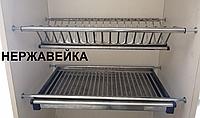 Сушка для посуды в шкаф из нержавеющей стали 500мм, фото 1