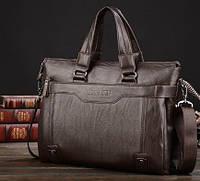 Мужская кожаная сумка. Модель 61208, фото 9