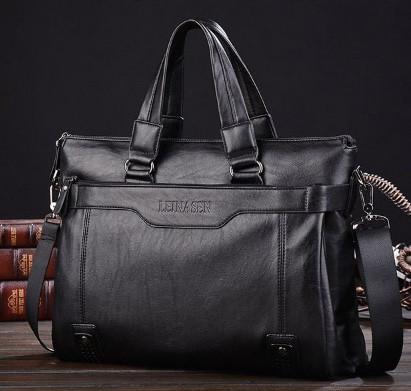 Мужская кожаная сумка. Модель 61208