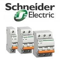 """Автоматические выключатели Schneider Electric """"Домовой"""" ВА63"""