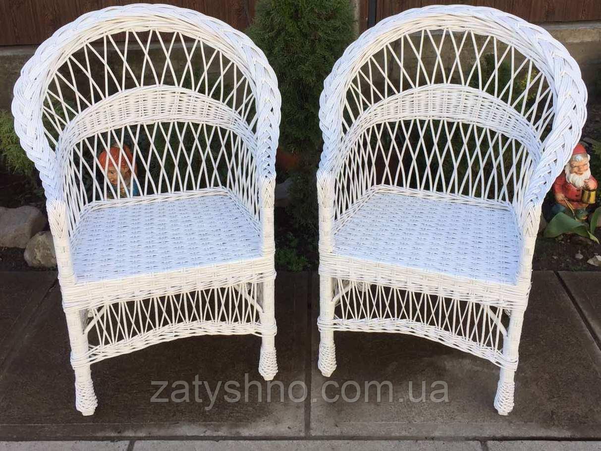 Кресло плетеное белое  2 штуки   кресло из лозы белое    кресло плетеное красивое белое