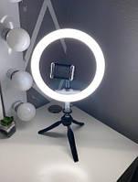 Кольцевая Лампа 26см для блогера, визажиста, фотографа + пульт