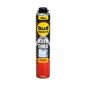 Клей-піна для утеплювача Budmonster PRIME, 750 мл BudMonster