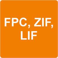 Роз'єми FPC, ZIF, LIF