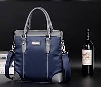 Мужская кожаная сумка. Модель 61210, фото 9