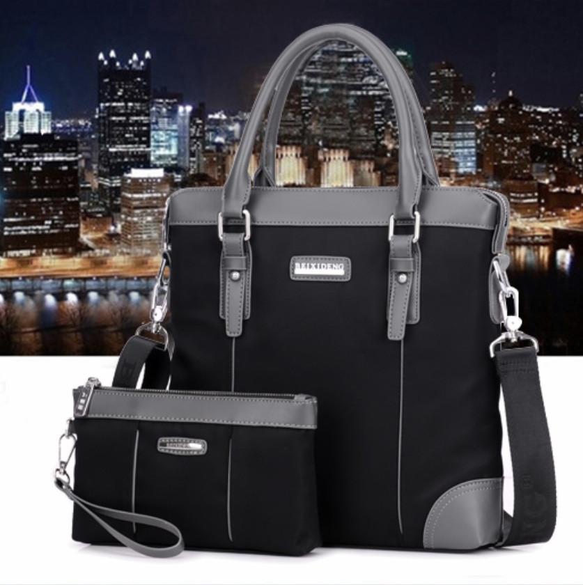 Мужская кожаная сумка. Модель 61210