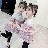 Стильна сорочка для дівчинки, фото 1